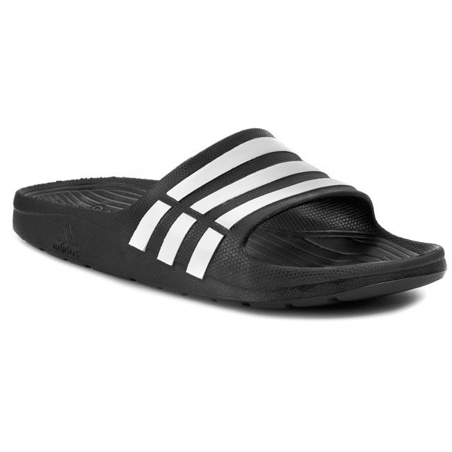 Šľapky adidas - Duramo Slide G15890 Black1 Wht - Glami.sk b3de49edb62