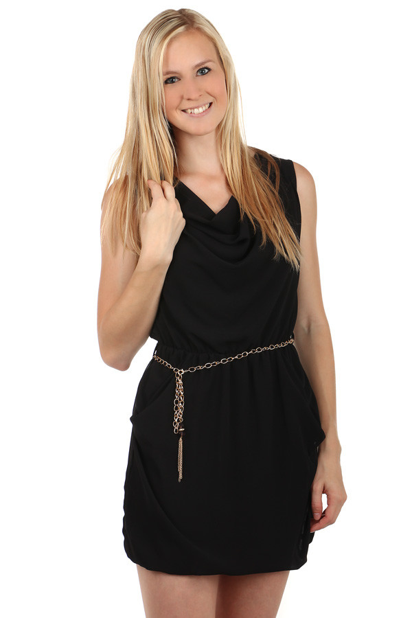 Glara Dámske krátke voľné šaty na leto - Glami.sk 06302938b67