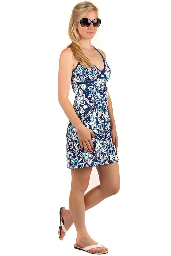 Glara Letné krátke kvetované šaty s úzkymi ramienkami - Glami.sk 4c016d0c0fa