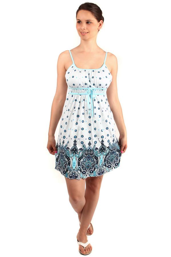 Glara Krátke letné šaty s úzkymi ramienkami - Glami.sk a590e69e5c7