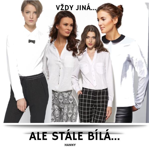 Vždy jiná,ale stále bílá košile...