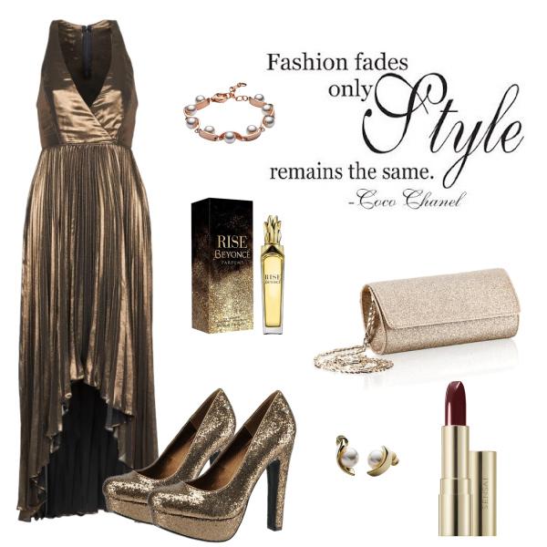 Luxusní zlatá