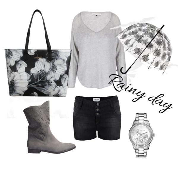 Outfit na deštivý den