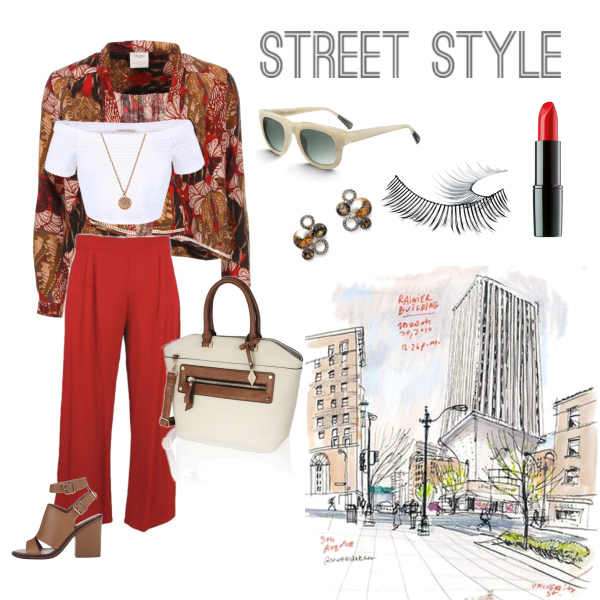 Culottes in The City