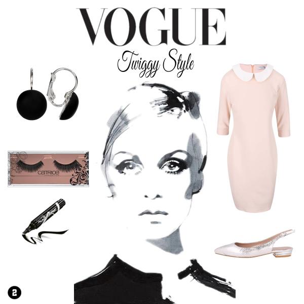Vogue Twiggy Style