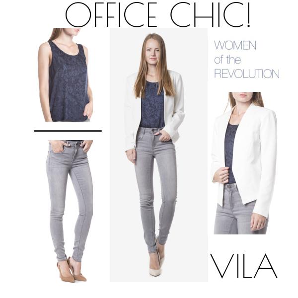 Outfit do kanceláře od značky VILA