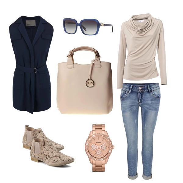 Pohodový outfit na chladnější léto