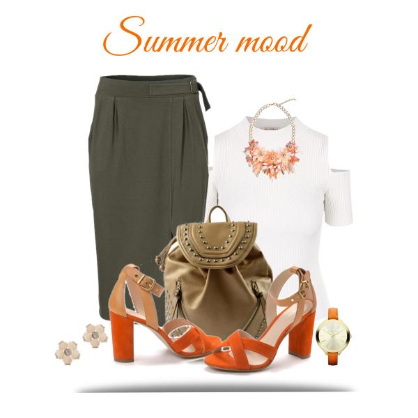 Netradiční kombinace - stylově s batohem!