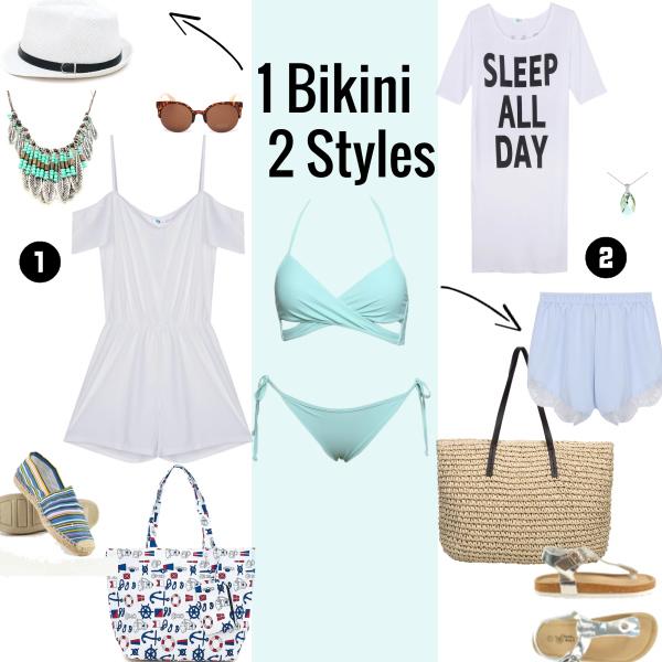 1 Bikini - 2 Styles