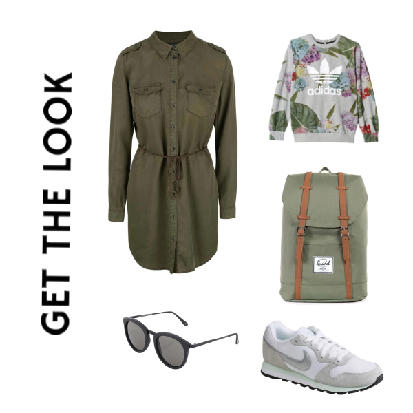 GET THE LOOK WITH ARMY STYLE