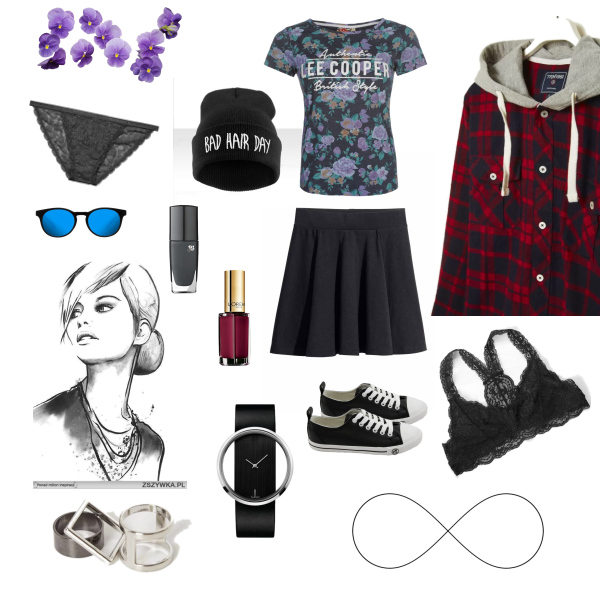 be chic, street girl