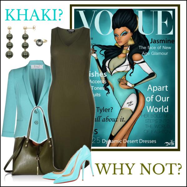 Khaki: Dokonalá barva pro neotřelé kombinace