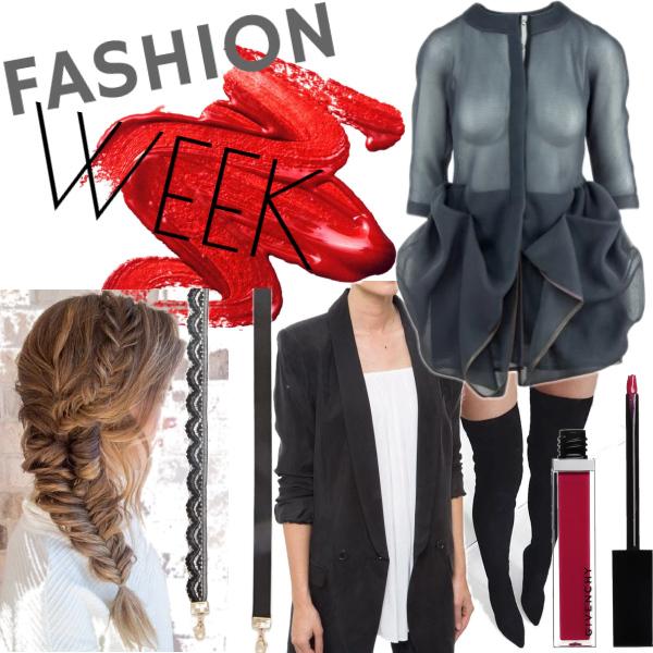Fashion week Mercedes Benz