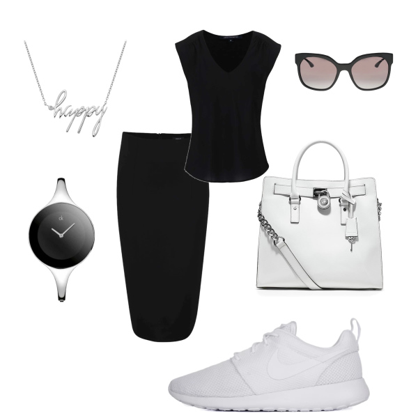 bílé tenisky