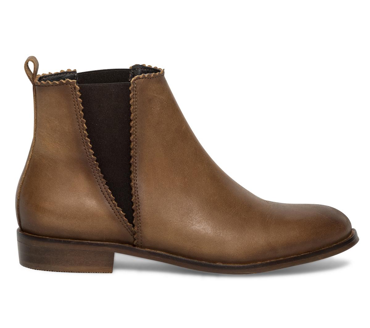 boots camel cuir Chelsea Eram Eram Chelsea WqpntZw1XW