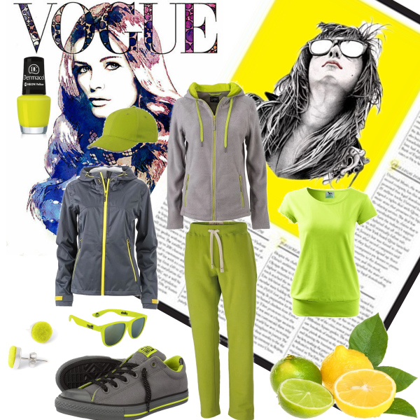 Žlutá moda