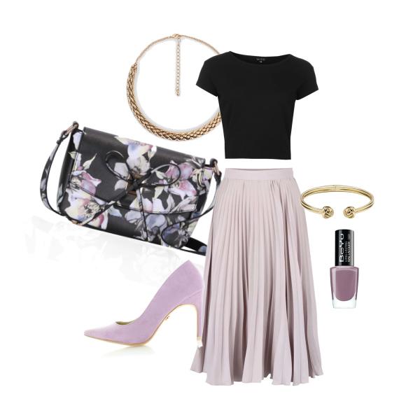 Elegantní fialková