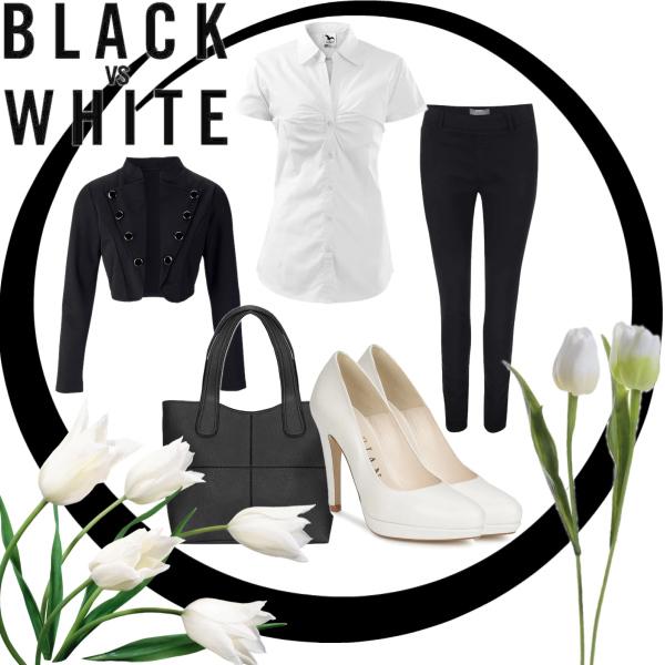 černá vs. bílá