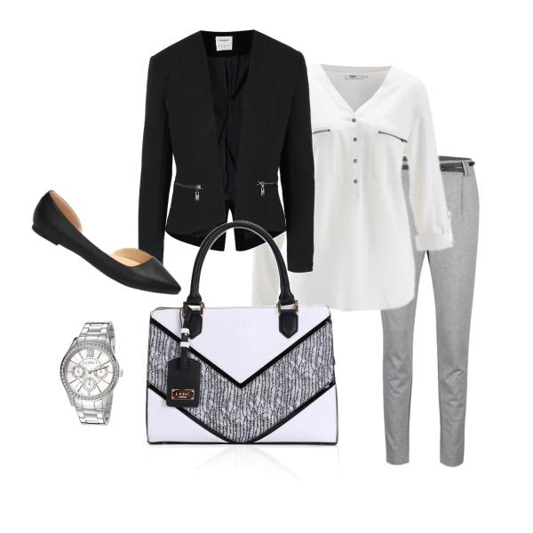 Outfit do kanceláře