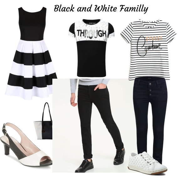 Black and White Familly
