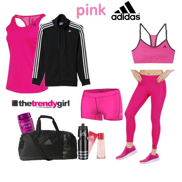 Fitness v růžové
