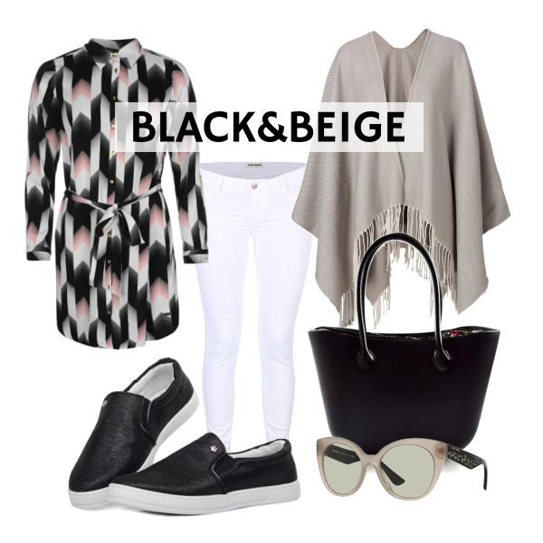 black&beige