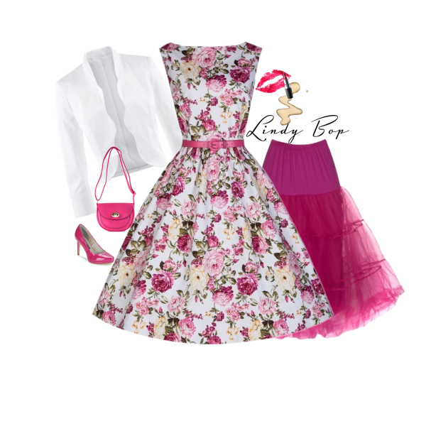 Lindy Bop Audrey Pink Rose od Alltex-fashion.cz