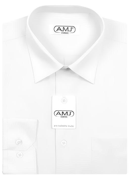 bae4582db033 Pánská košile AMJ jednobarevná JDS018