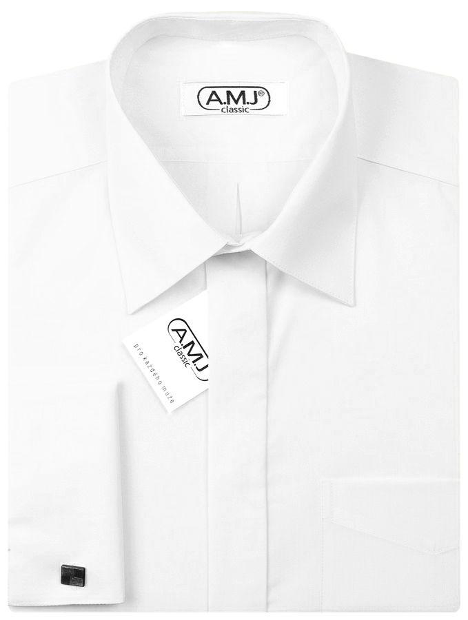 9ba642b2ffa1 Pánská košile AMJ na manžetové knoflíčky