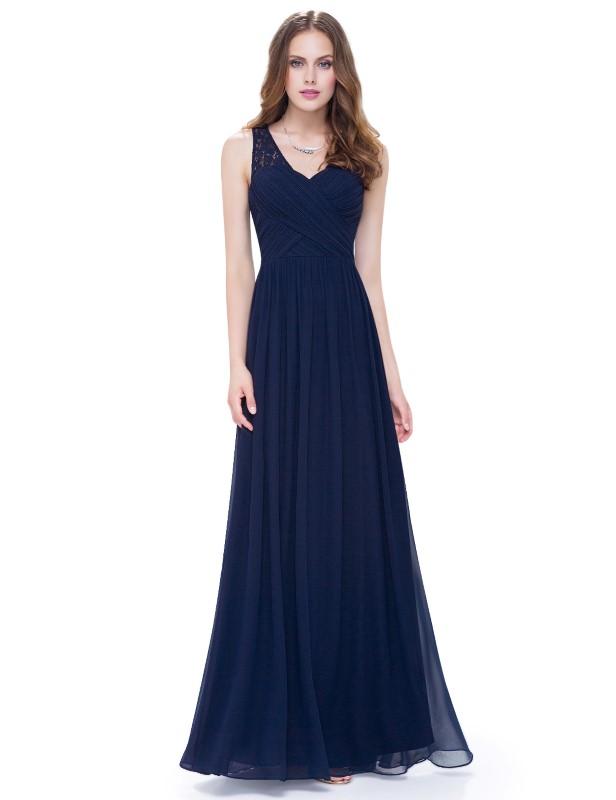 Ever Pretty Plesové šaty společenské modré 8871 - Glami.cz a3f0a62c2e