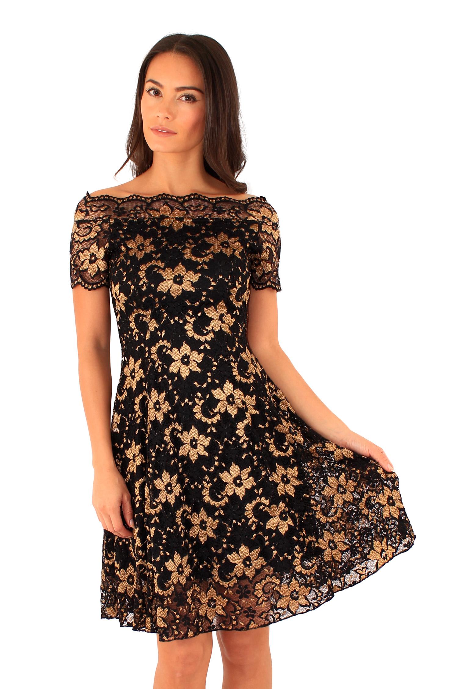 Ly xx Společenské krajkové šaty - Glami.cz 7bc2922db6
