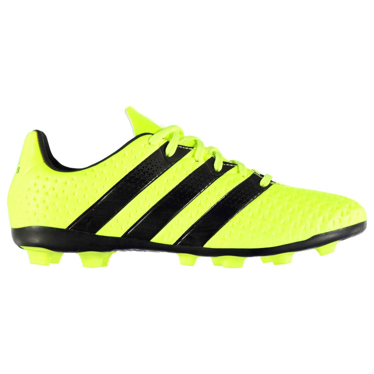 adidas Ace 16.4 FG Football Boots Junior Solar Yellow - Glami.sk f4b4ccd4ed