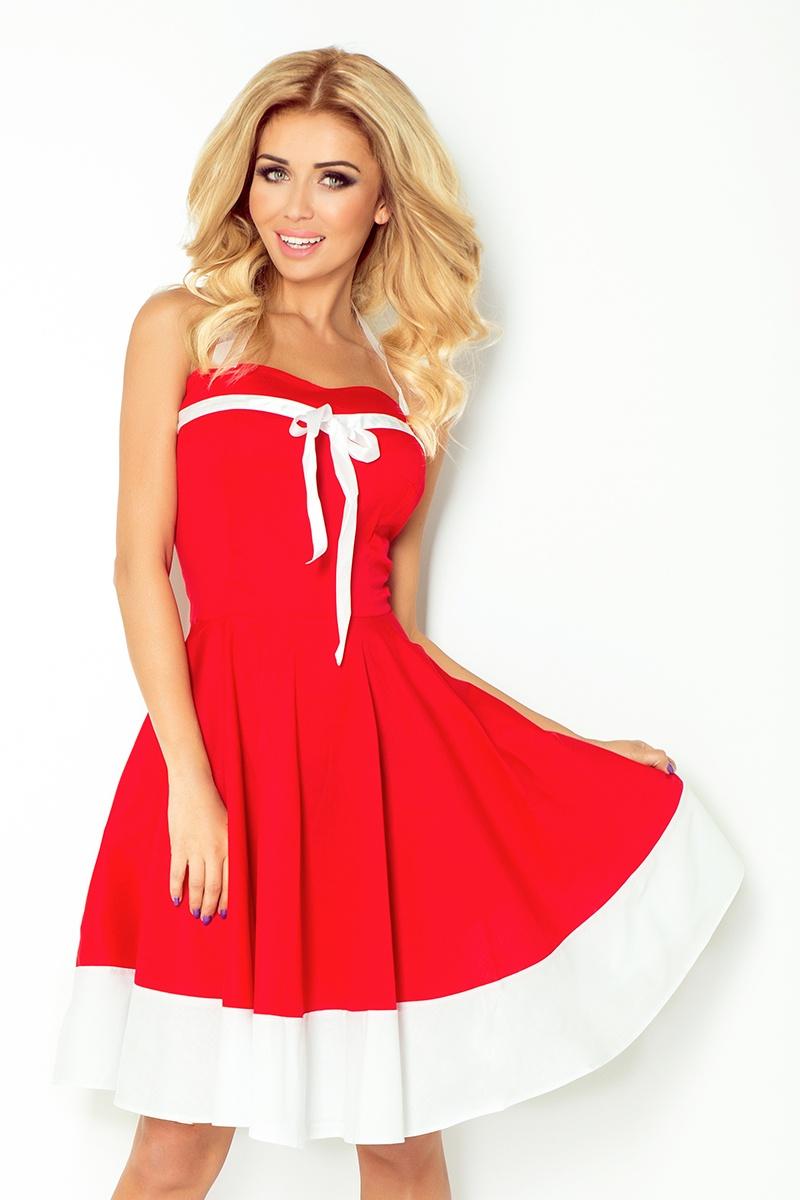5b794e82b7e4 Strikingstyle 30-17 Rockabilly pin up šaty   červené - Glami.sk