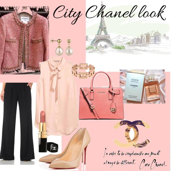 City Chanel look