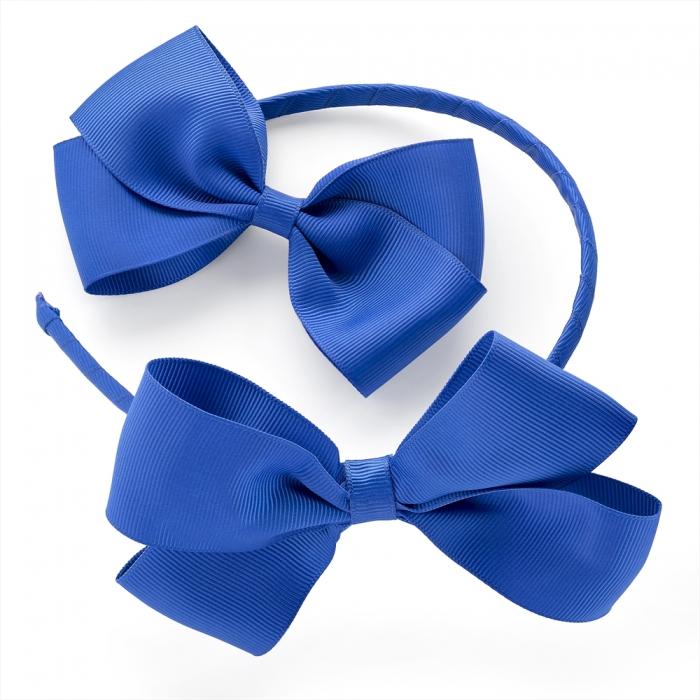 Modrá čelenka a sponka Kate 29970 - Glami.cz 737929d2fa