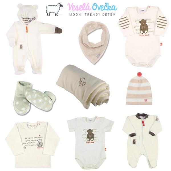 Půvabné módní kousky pro miminka - ladíme do béžova
