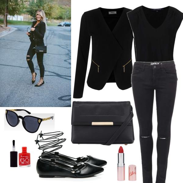 elegantní a moderní černá