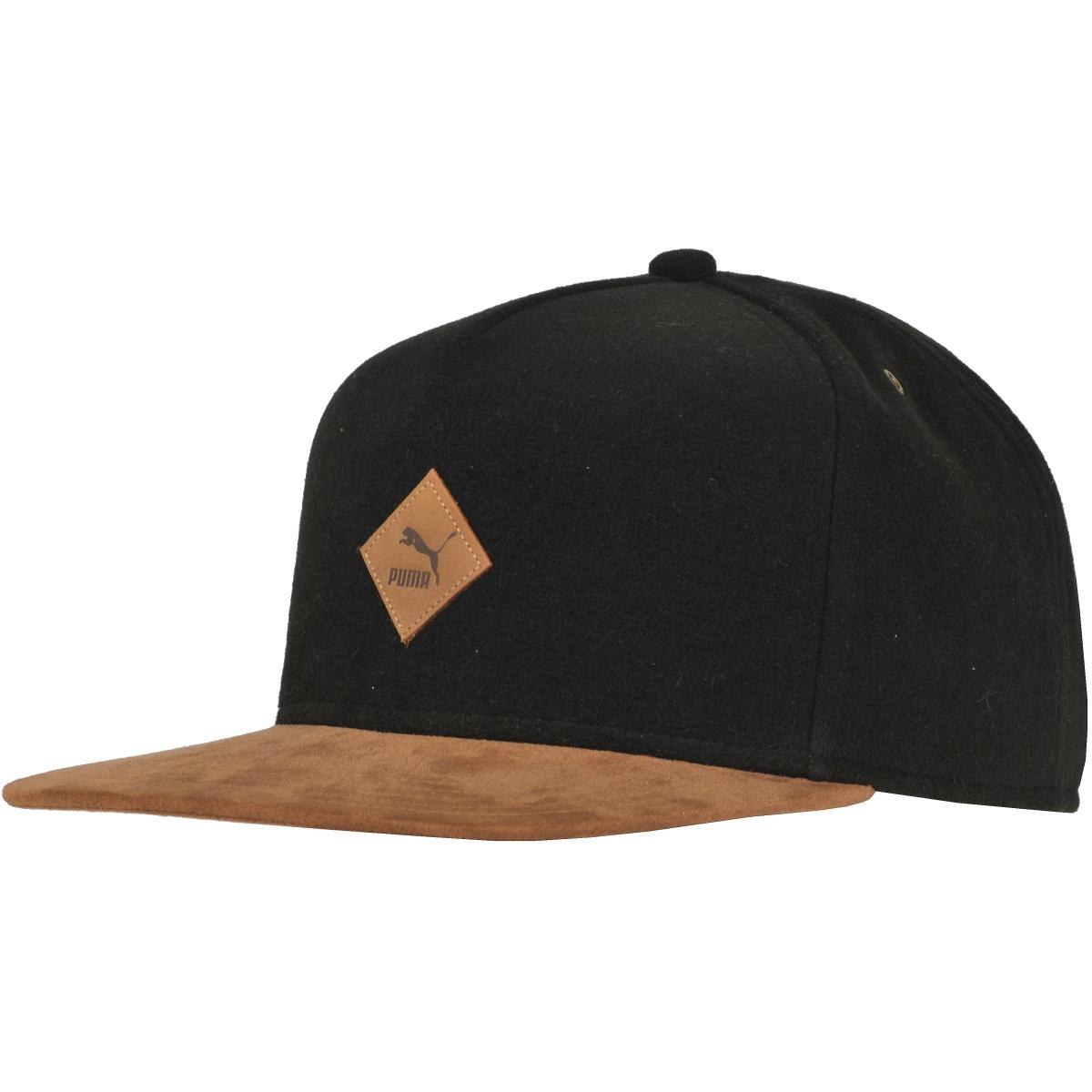 Puma Wool Flatbrim Cap černá Jednotná - Glami.cz 2fc01e918476