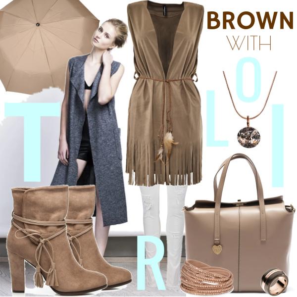 Brown with Troli