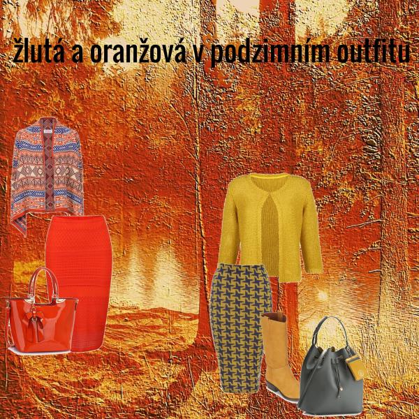 žlutá a oranžová podzimní 3