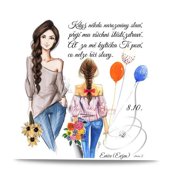 Všechno nejlepší k narozeninám Evičce (Evžen)