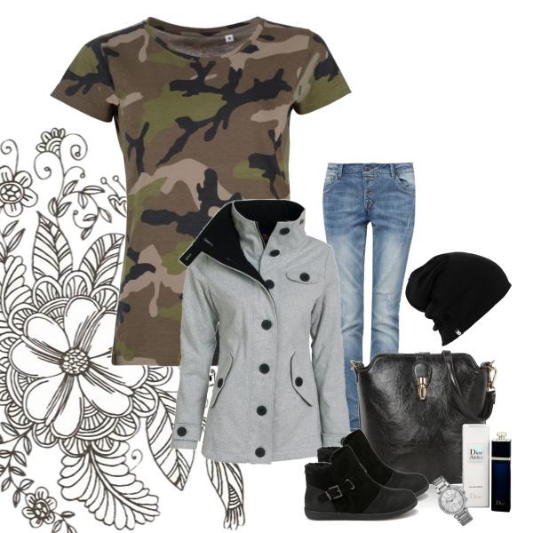 Stylový podzimní outfit