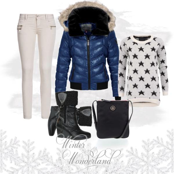 zimní královna - outfit tip PRO NI