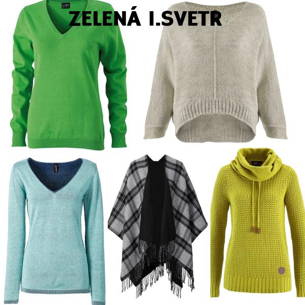 Zelená 1.svetr
