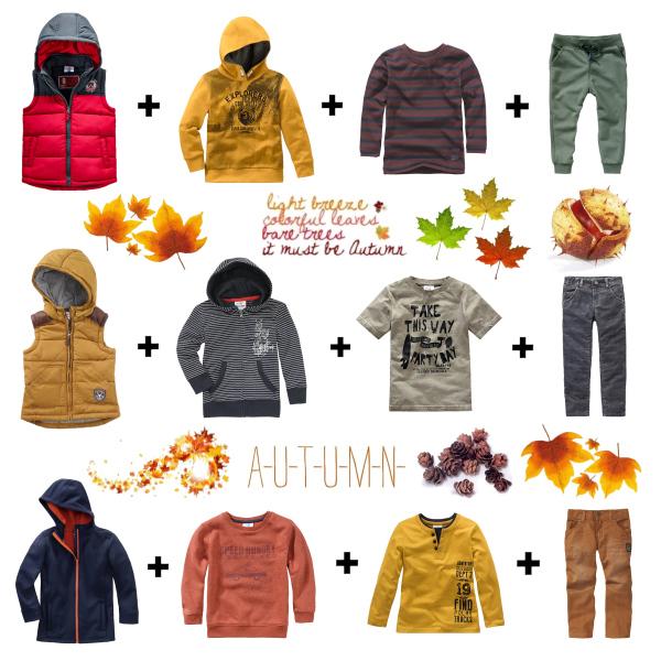 Podzimní oblečení pro malé školáky
