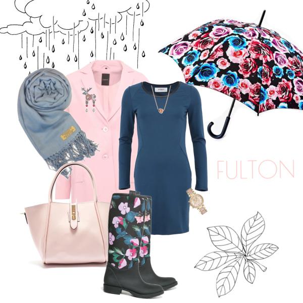 Dancing in the rain s deštníky Fulton