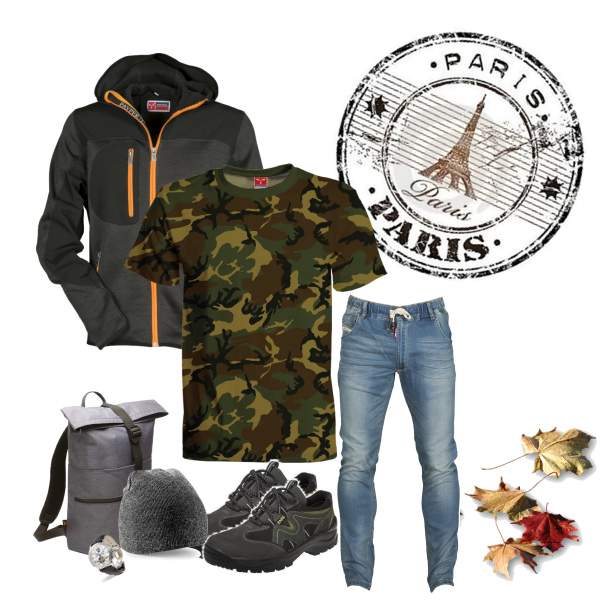 Pánský podzimní outfit