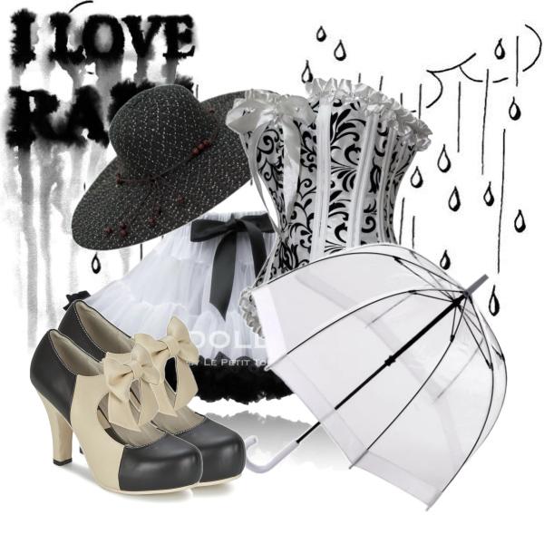 Dancing in the rain like a Lolita