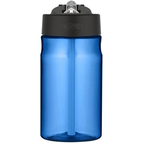 Thermos Dětská hydratační láhev s brčkem o objemu 350 ml - modrá ... b23a1762769