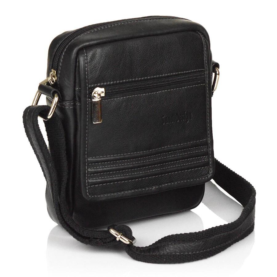 7c0d7915f7 Sendi DESIGN Pánská kožená taška na doklady SendiDesign 794 - černá ...